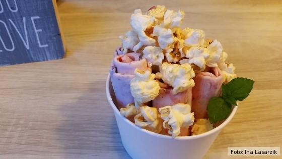 Ice Rolls Eisbecher Popcorn Diva