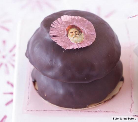 Lebkuchen, Weihnachtsbäckerei, Elisenlebkuchen, Schokolade, Schokoladenguss