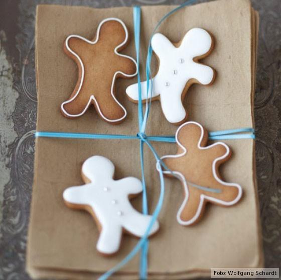 Lebkuchen, Weihnachtsbäckerei, Brauner Lebkuchen, Ginger Bread People