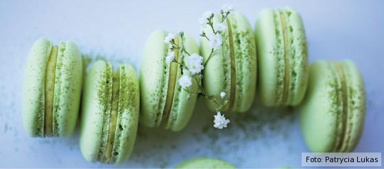 matcha - das kochbuch, gretha scholtz, matcha macarons, news, grüntee, rezepte, süß, herzhaft, backen, kochen, japanisch