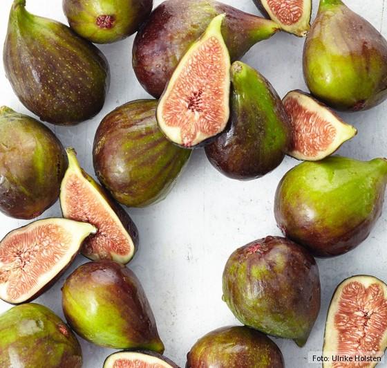feigen, frisch, Obst, süß,, saison, spätsommer, herbst, aufgeschnitten, Fruchtfleisch