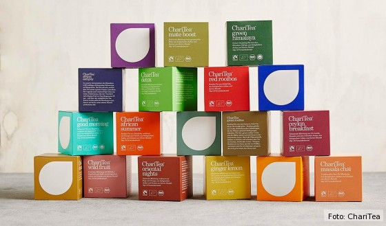 Neue Bio-Teesorten von ChariTea