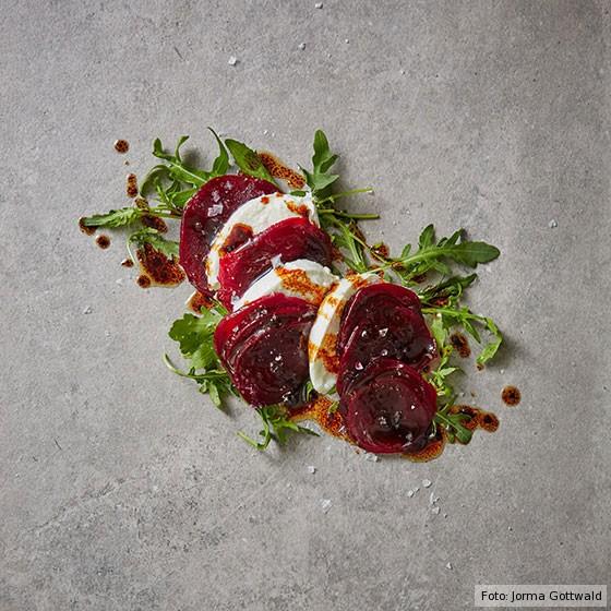 Top Five, Top 5, Rote Bete, Rote Bete mit Mozzarella, Variation, Rezept