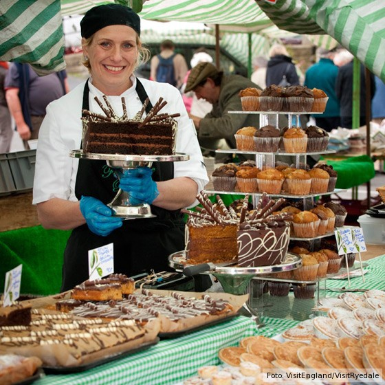 Malton Food Lovers Festival Yorkshire Nordengland